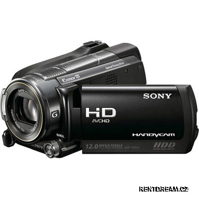Kamera Full HD Sony HDR XR 500